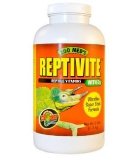 ZOO MED REPTIVITE 227GR fosforilla ja D3