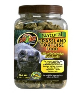 ZOO MED NATURAL GRASSLAND TORTOISE FOOD240GR