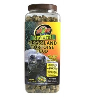 ZOO MED NATURAL GRASSLAND TORTOISE FOOD425GR
