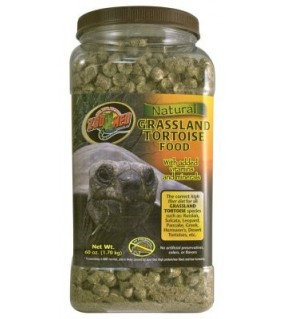 ZOO MED NATURAL GRASSLAND TORTOISE FOOD1.7KG