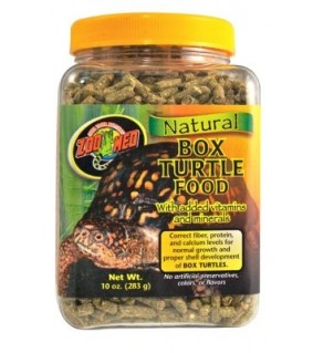 ZOO MED NATURAL BOXTURTLE FOOD 284GR