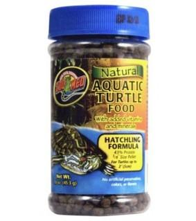 ZOO MED NATURAL AQUATIC TURTLE FOOD 45GR HATCHLING