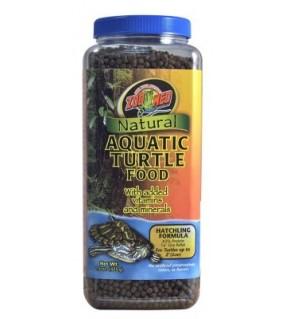 ZOO MED NATURAL AQUATIC TURTLE FOOD 425GR HATCHLIN
