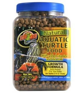 ZOO MED NATURAL AQUATIC TURTLE FOOD 212GR GROWTH FOOD
