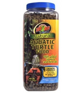 ZOO MED NATURAL AQUATIC TURTLE FOOD 369GR GROWTH FOOD