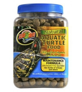 ZOO MED NATURAL AQUATIC TURTLE FOOD 184GR MAINTENANCE