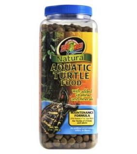 ZOO MED NATURAL AQUATIC TURTLE FOOD 340GR MAINTENACE
