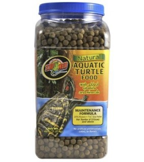 ZOO MED NATURAL AQUATIC TURTLE FOOD 1.27KG MAINTENANCE