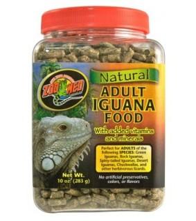 ZOO MED NATURAL ADULT IGUANA FOOD 283GR