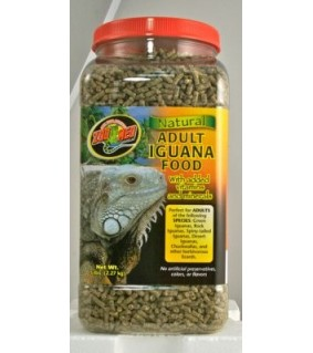 ZOO MED NATURAL ADULT IGUANA FOOD 2.27KG