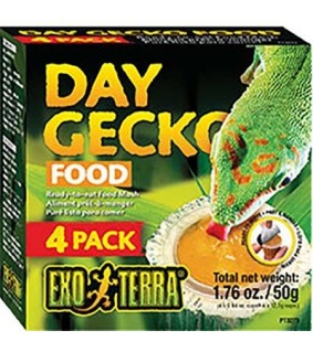 Exoterra DAY GECKO FOOD 50 g 4 kpl