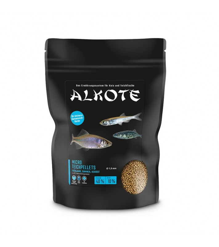 ALKOTE Micro Teichpellets 36/7  1,5 mm 600g