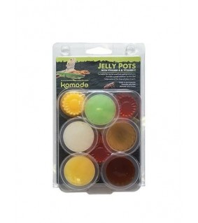 Jelly Pots Fruit Flavours 8kpl