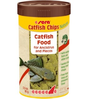 Sera Catfish Chips Nature 100 ml