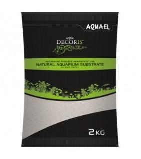 Aqua Decoris Hiekka 2kg 0,1-0,3mm harmaa