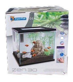 SUPERFISH ZEN 30 AQUARIUM WHITE