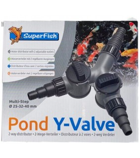 Superfish Pond Y valve