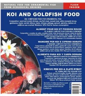 Koi and Goldfish Special pakaste