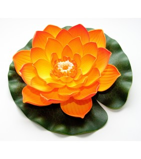 Velda Lotus Foam Orange 20 cm