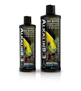 Brightwell Aquatics Alkalin8.3 - 250 ml /8.5 fl. oz.