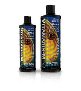 Brightwell Aquatics Vitamarin-M - 250 ml /8.5 fl. oz.