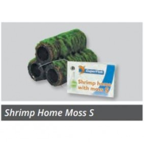 SUPERFISH SHRIMP HOME WITH MOSS S