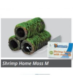 SUPERFISH SHRIMP HOME WITH MOSS M