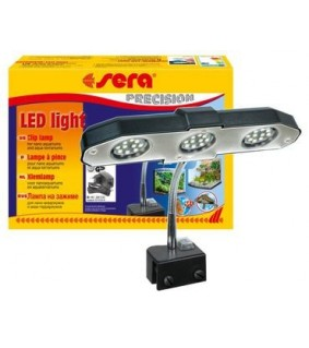 Sera Nano LED-valaisin, mukana LED-lamput