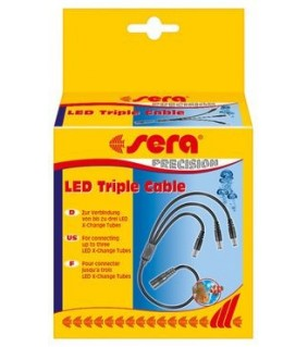 Sera LED triple Cable, 3-haaroitin