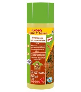 Sera Flore 2 Ferro 250 ml - rauta-lisä kaveille