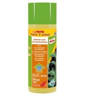 Sera Flore 3 vital 250 ml -parantaa vastustuskykyä