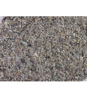Akvaariohiekka harmaa 8 kg 1-2 mm, värjäämätön