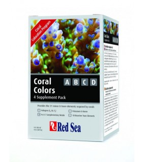 RedSea Trace (Coral) Colors A, B, C, D 100ml