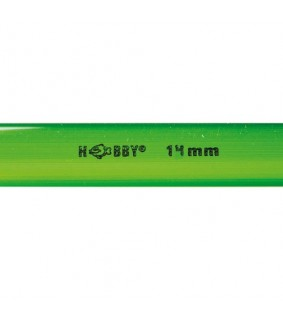 Hobby Rigid Plastic Tube Ø 14 mm outside, 1 m