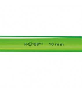 Hobby Rigid Plastic Tube Ø 10 mm outside, 1 m
