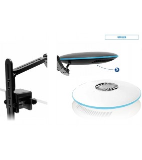Blue Marine UFO led 96W ja wifi set black