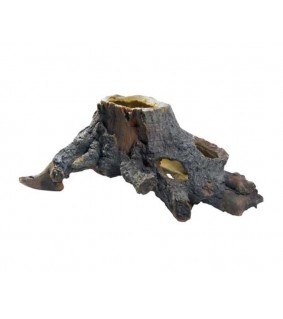 Hobby Stump Cavity 2 30x15x22 cm