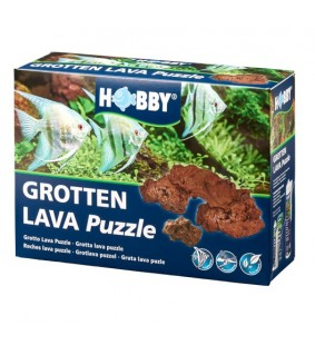 Hobby Grotto Puzzle Lava approx. 1,2 kg