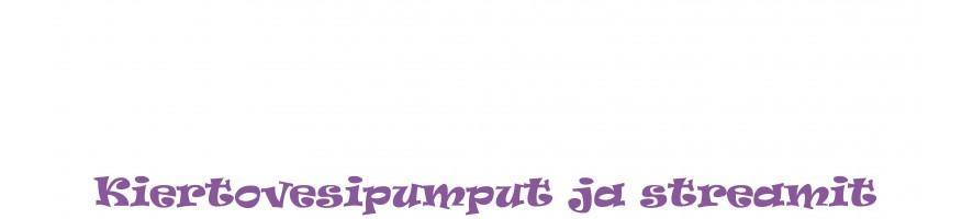 Pumput nostopumppu stream pumppu