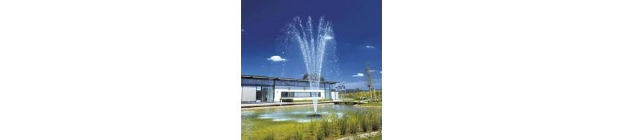 suihkulähde järvi pumppu